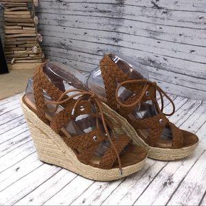 Size 9.5 Mossimo Platform Wedge Heel Espadrilles